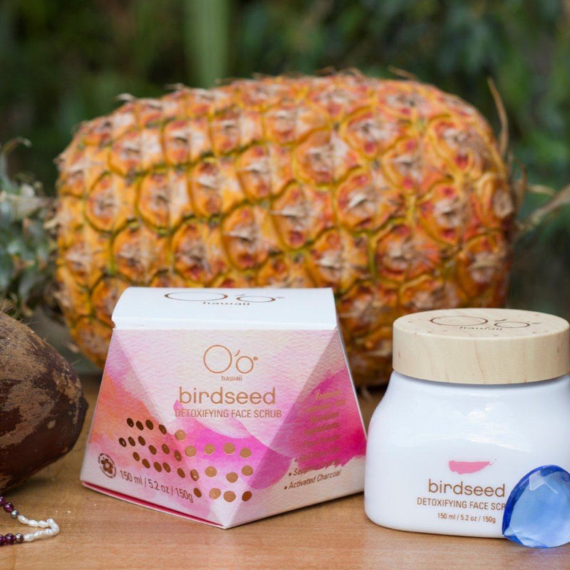 Masques And Exfoliators - O'o Hawaii Birdseed Detoxifying Face Scrub