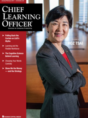 Chief Learning Officer – January/February 2017