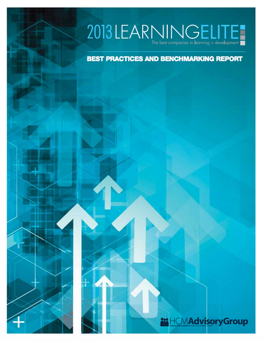 2013 LearningElite Best Practices and Benchmarking Report