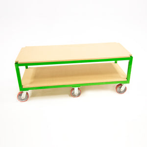 "Flat Cart 60W""x36H""x24D"" with Shelves. *Shelves not included"