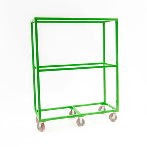 "Sort Cart 60""Wx77""Hx24""D with Center Shelf"