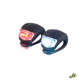 Bike Light - Front and Rear Silicone LED Bike Light Set