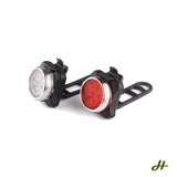 Bike Light - Bike Button Twin Lights