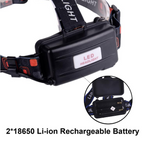 Three lamps - LED rechargeable headlamp - hawioutdoors
