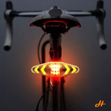 Bike Light - Bike USB rechargeable Indicator (remote controlled)
