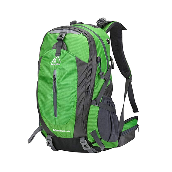 Terra Hiker Camping Backpack, Hiking Rucksack 40L - hawioutdoors