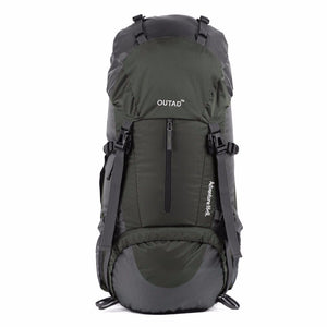 OUTAD 60L(55L+5L) Multi-Day Hiking Backpack - hawioutdoors