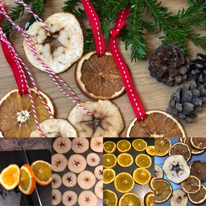 Dried Fruit Christmas Decorations