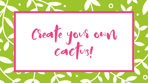 Cactus craft easy to make