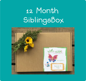 12 Month Siblings LetterBox ~ £144 for 12 months ~ £12.00 per month