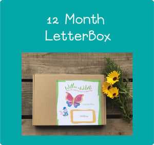 12 Month LetterBox Subscription £119.40 for 12 months £9.95 per month