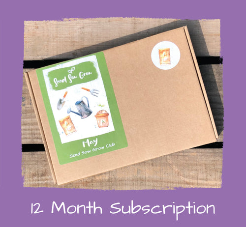 12 Month Subscription - £95.88 for 12 Months, £7.99 per month