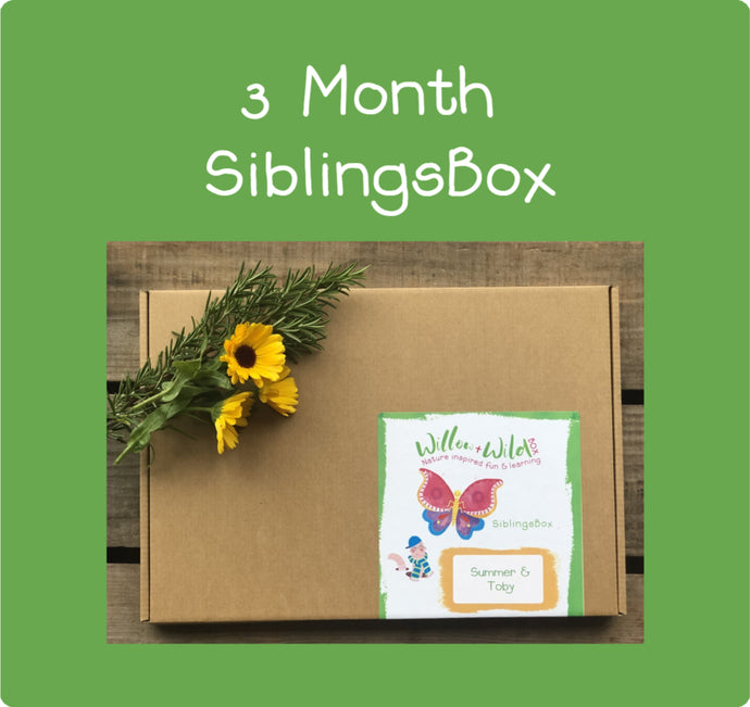 Siblings LetterBox ~ £40.50 for 3 months ~ £13.50 per Month