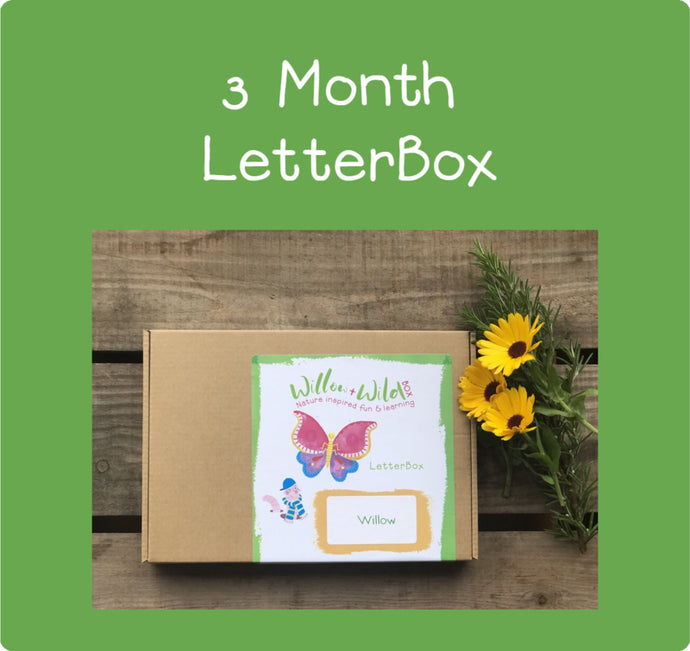 3 Month LetterBox Subscription  -  £29.75 for 3 months £9.75 per month