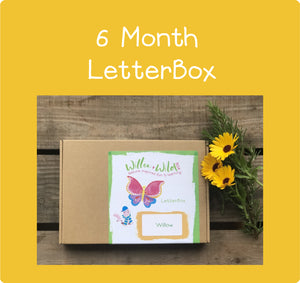 6 Month LetterBox Subscription £65.70 for 6 months or £10.95 per month