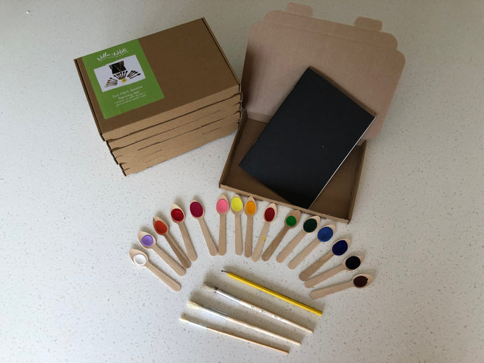 Paint Spoon Art Kit Party Boxes