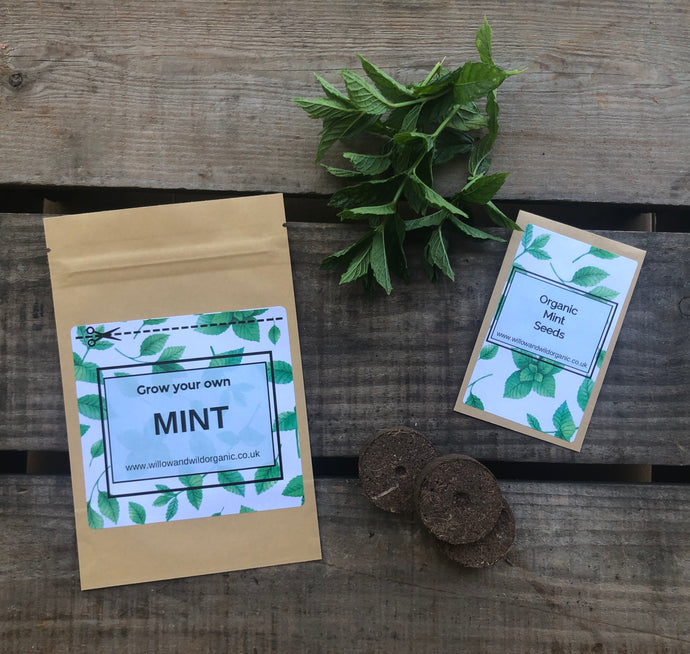 Grow your own Mint Grow Bag