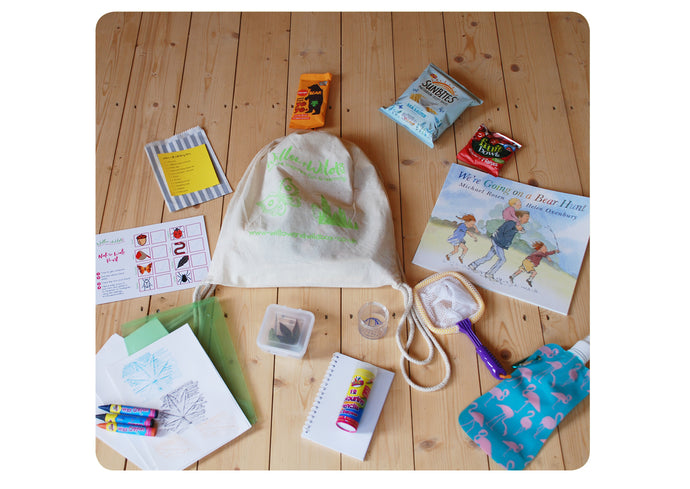 We're going on a bug & nature hunt bag - 3 to 6yrs