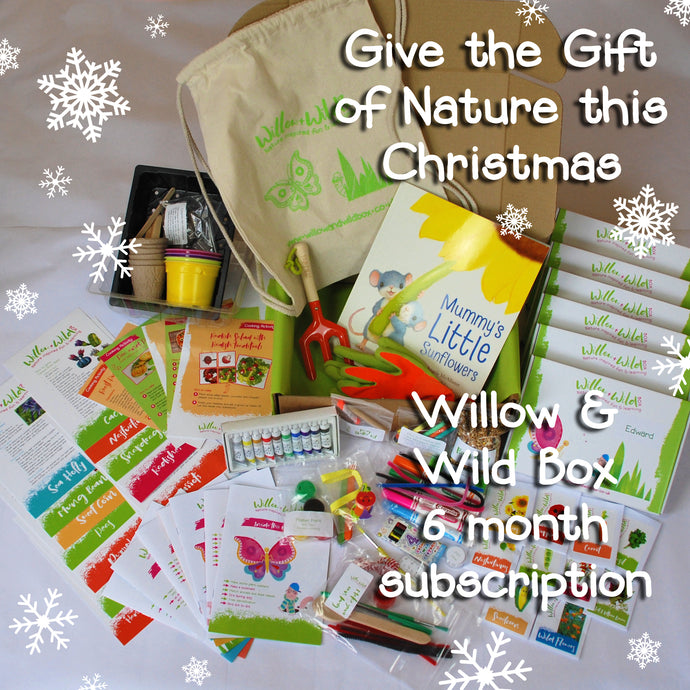 6 Month Christmas Gift Subscription - £50 for 6 months £8.33 per month