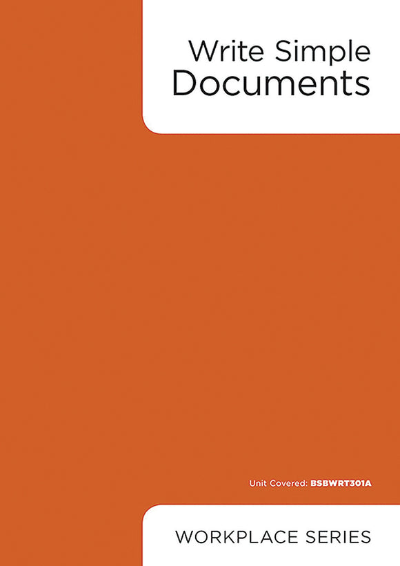 Write Simple Documents