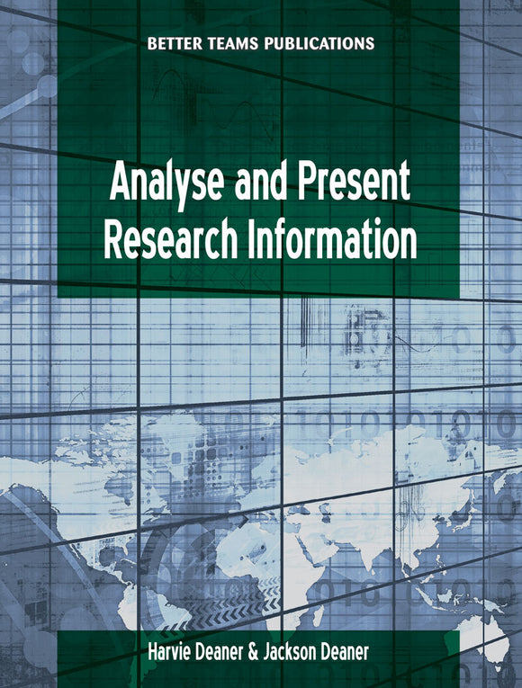 Analyse and Present Research Information