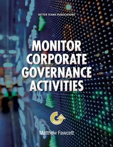 Monitor Corporate Governance Activities