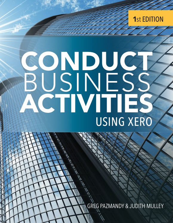Conduct Business Activities using Xero