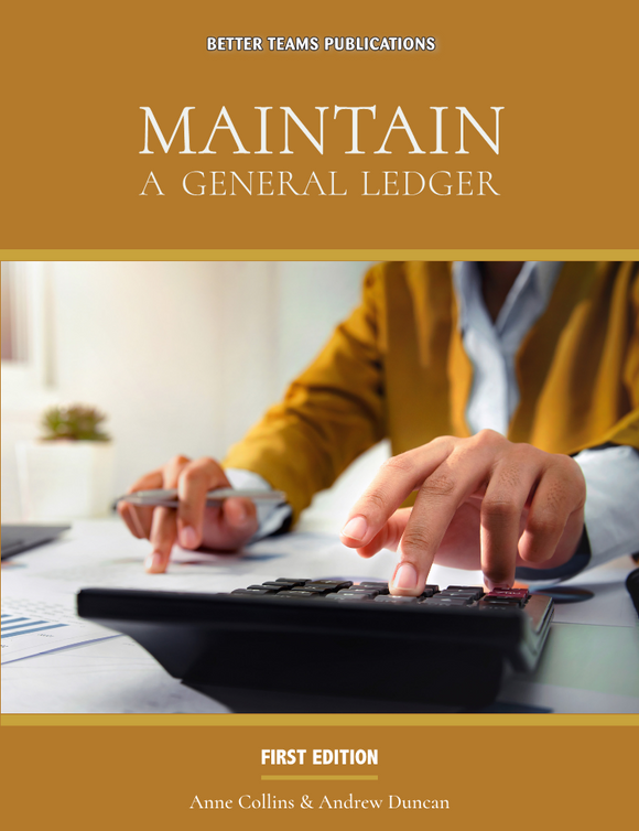 Maintain A General Ledger