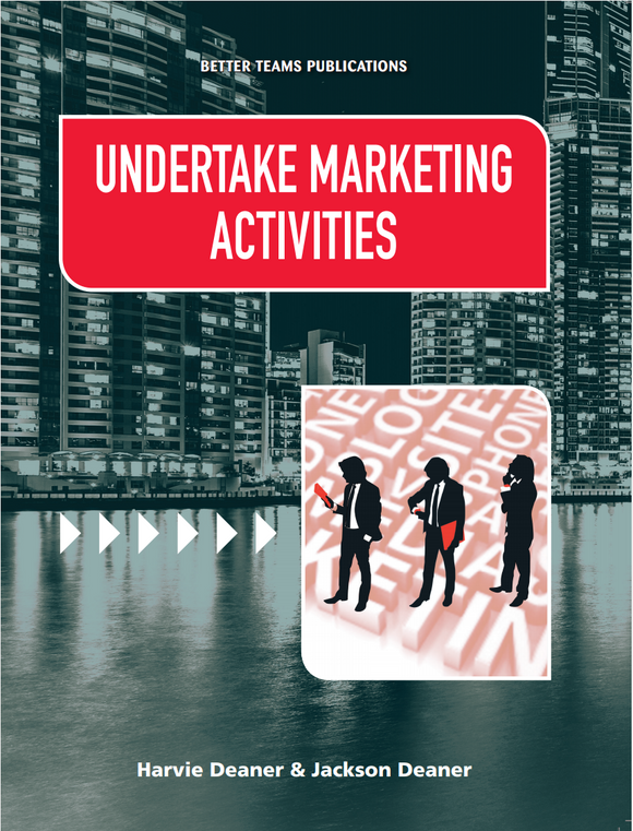 Undertake Marketing Activites