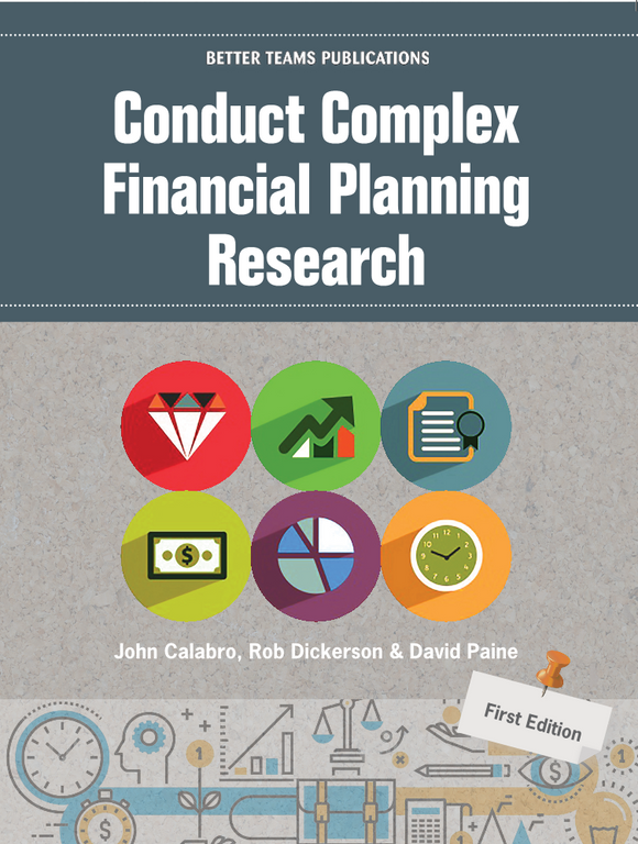 Conduct Complex Financial Planning Research