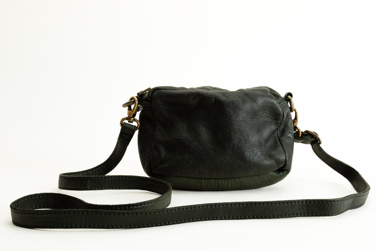 "LEATHER HANDBAG ""PARAL.LEL"""