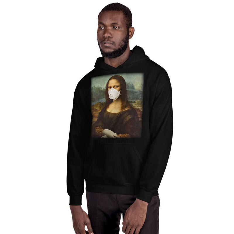 Mona Face-mask Lisa Unisex Hoodie - Blasé Clothes
