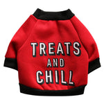 Treats and Chill Doggie Sweater