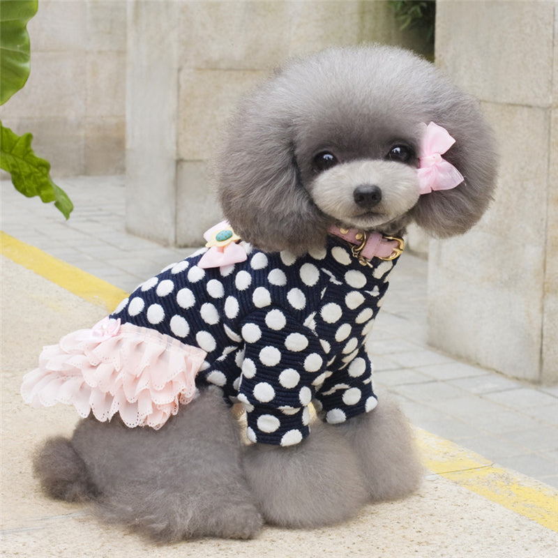 Doggie Polka Dot Dress