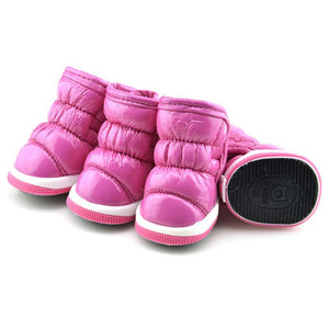 Puff Winter Doggie Boots