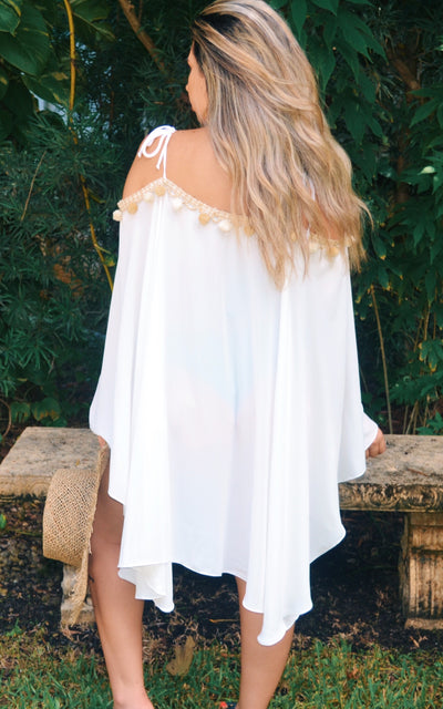 Gypsy Heart Bella Off The Shoulder Cover-Up