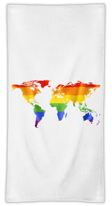 World Map Towel /Eco-Friendly