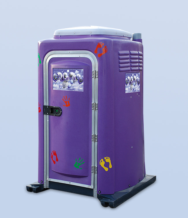Purple Potty Portable Toilet for Children