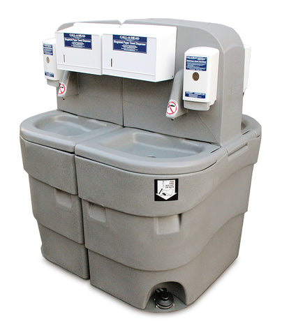 Wash Basin Portable Sink - 2 Units Shown Together