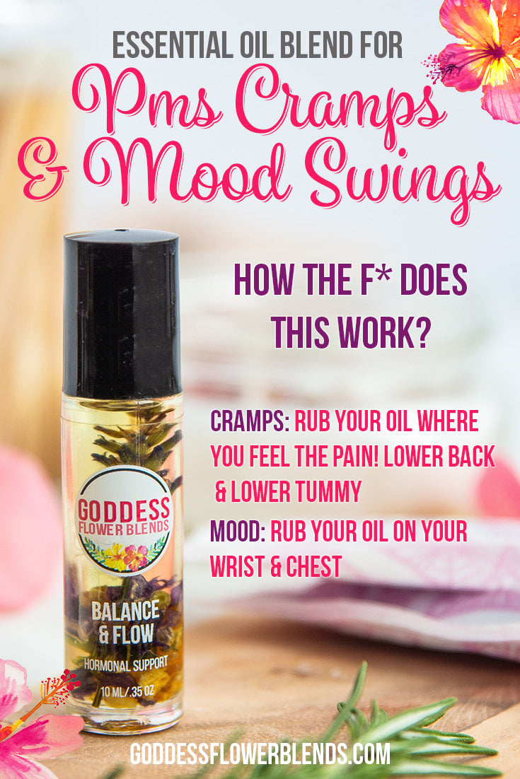 essential oil for pms cramps