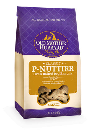 Old Mother Hubbard Crunchy Classic Natural P-Nuttier Small Biscuits Dog Treats