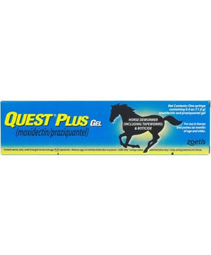 Quest Plus Gel Horse Dewormer