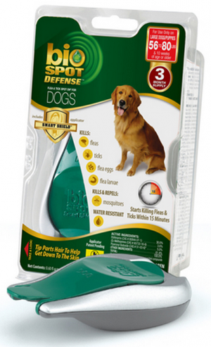 Bio Spot Active Care Flea and Tick Spot for Large Dogs