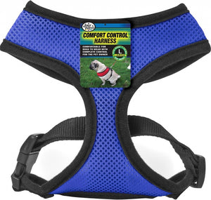 Four Paws Blue Comfort Control Dog Harness
