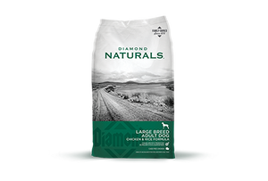 Diamond Naturals Large Breed Chicken & Rice Formula Adult Dog Dry Food