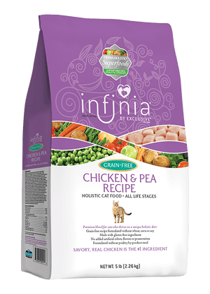 Infinia® Grain-Free Chicken & Pea Recipe Holistic Cat Food