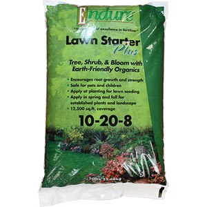 Endure 10-20-8 Lawn Starter Plus Fertilizer
