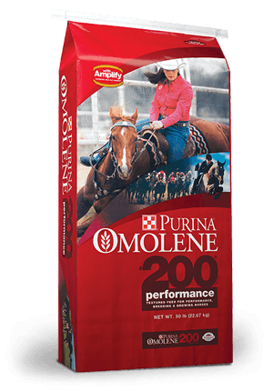 Purina® Omolene #200® Performance Horse Feed