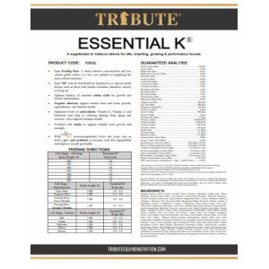 Tribute Essential K® Pellet