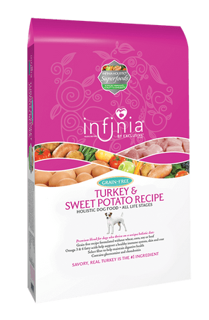 Infinia® Turkey & Sweet Potato Recipe Holistic Dog Food